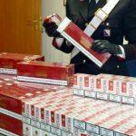 940 chili di sigarette di contrabbando sequestrati dai carabinieri a Napoli, tre arresti
