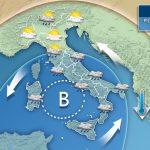 METEO: instabilità senza fine, weekend con vortice mediterraneo, la prossima settimana in arrivo nuove perturbazioni dal Nord Europa