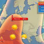 METEO: l'anticiclone subtropicale raggiungerà i suoi massimi sull'Italia tra giovedì e venerdì, anche Napoli città da bollino rosso. Attesi picchi di 40-42 gradi in diverse località del Centro-Nord