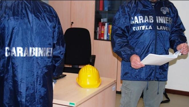Nola (Napoli), operazione dei carabinieri contro il lavoro sommerso, una denuncia e sanzioni per 76mila euro