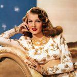Ricorre oggi il 101° anno dalla nascita di Rita Hayworth, nome d'arte diMargarita Carmen Cansino, tra le più belle e seducenti donne dellastoria del cinema