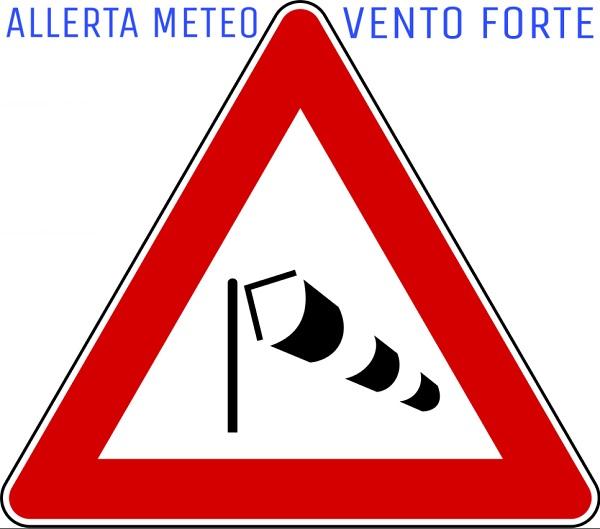 Allerta meteo arancione per vento con raffiche di burrasca fino a mercoledì 27 gennaio 2021