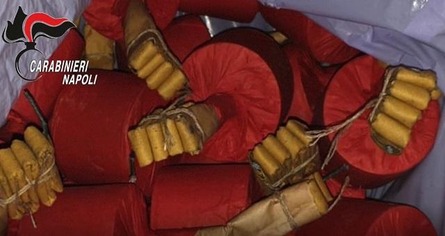 Fabbricavano e detenevano botti illegali in casa, tre arresti dei carabinieri a Casandrino (Napoli)