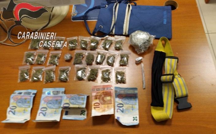 San Nicola la Strada (Caserta), spaccio di marijuana e hashish, tre arresti dei carabinieri