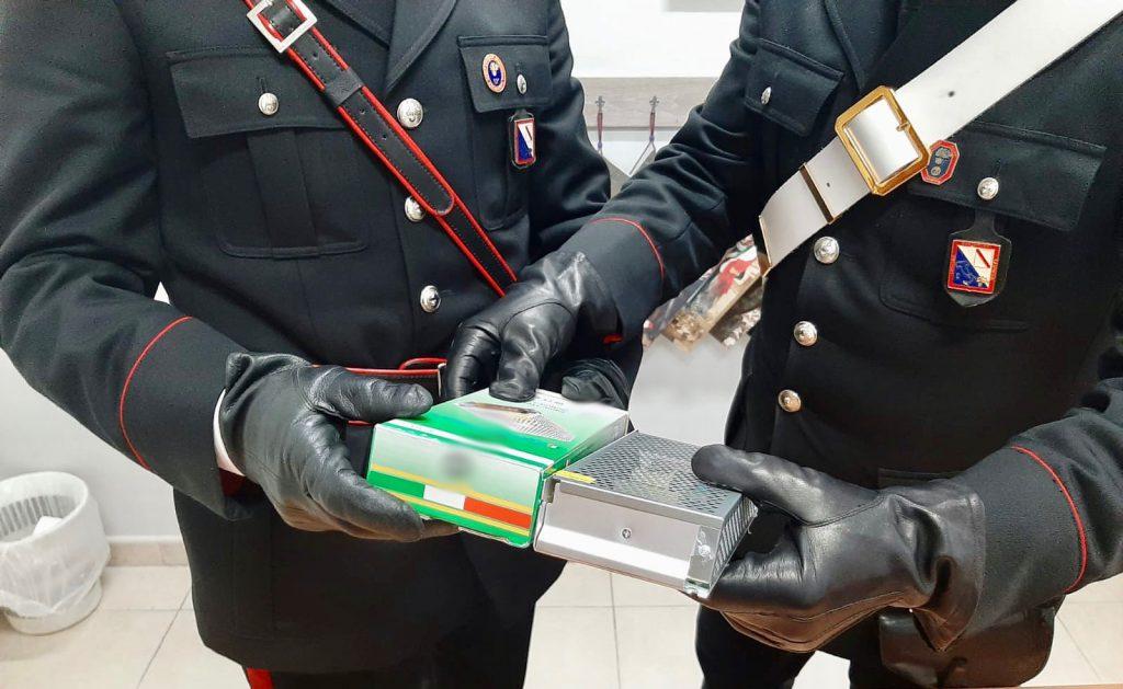Palma Campania (Napoli), due giovani arrestati dai carabinieri dopo aver truffato un'anziana di 84 anni, dalla donna si erano fatti consegnare 450 euro
