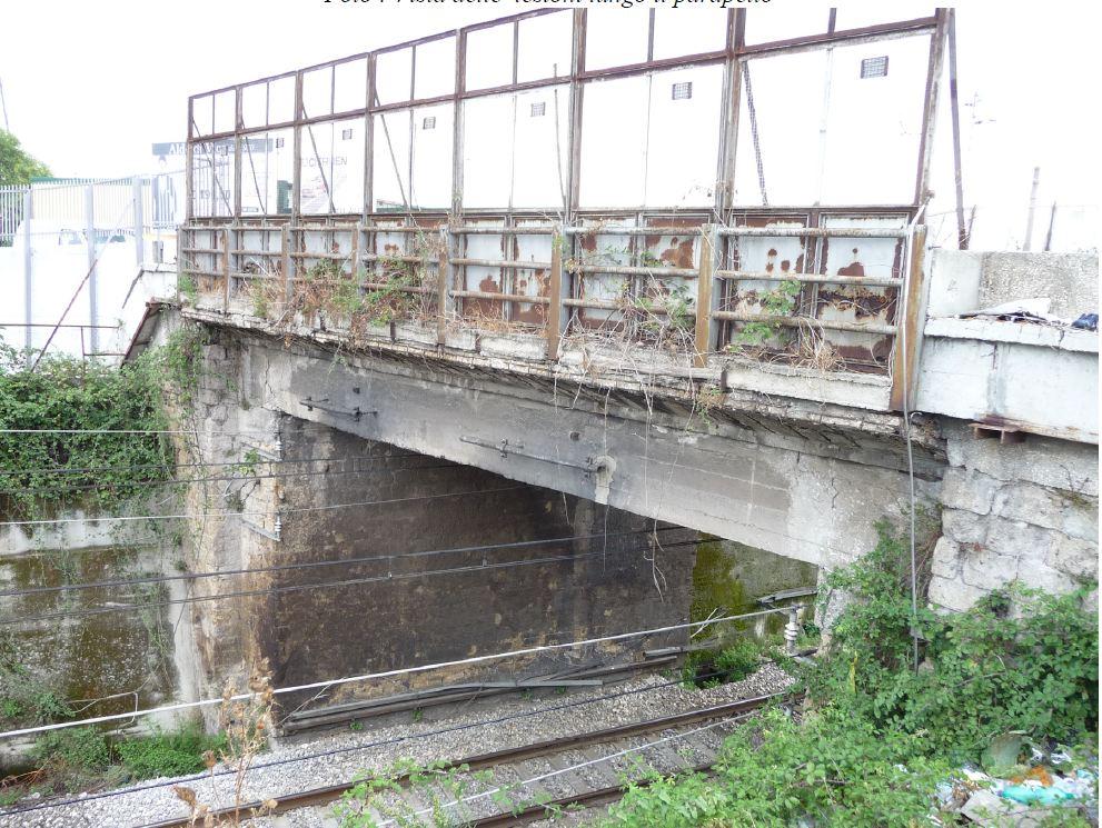 Pericolo di crollo, sequestrato dai carabinieri su disposizione della Procura di S. Maria Capua Vetere il Ponte Vapore a Maddaloni (Caserta)