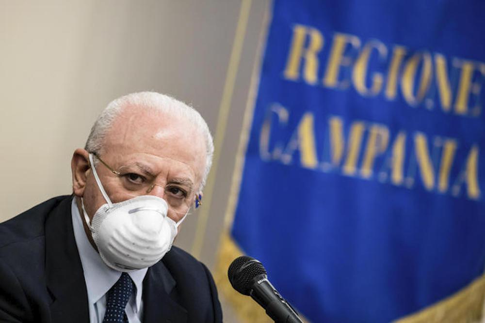 Vertice sui vaccini, il governatore De Luca chiede che le dosi alle Regioni siano distribuite in base alla popolazione, c'è necessità di riequilibrare la fornitura entro la fine di marzo