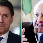 """Coronavirus, possibile nuovo lockdown in Campania minacciato dal governatore De Luca, il premier Conte: """"Raccomando coordinamento con il Governo, non si può andare in ordine sparso"""""""