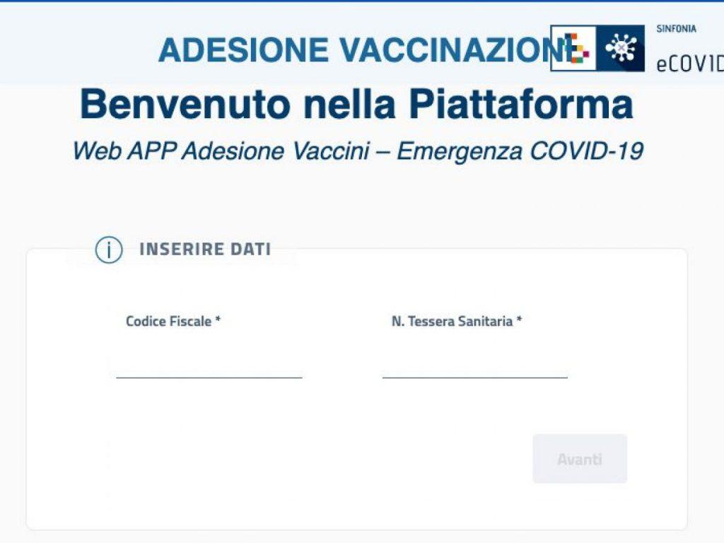 Vaccini: dal 15 maggio in Campania aperta la piattaforma per le prenotazioni dedicate alla fascia di età 45-49 anni
