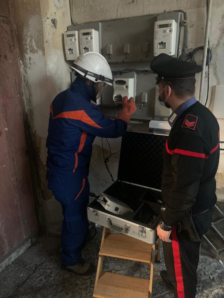 Marigliano (Napoli): i Carabinieri si fingono clienti per un controllo agroalimentare in una pizzeria e il titolare viene arrestato per furto aggravato di energia elettrica